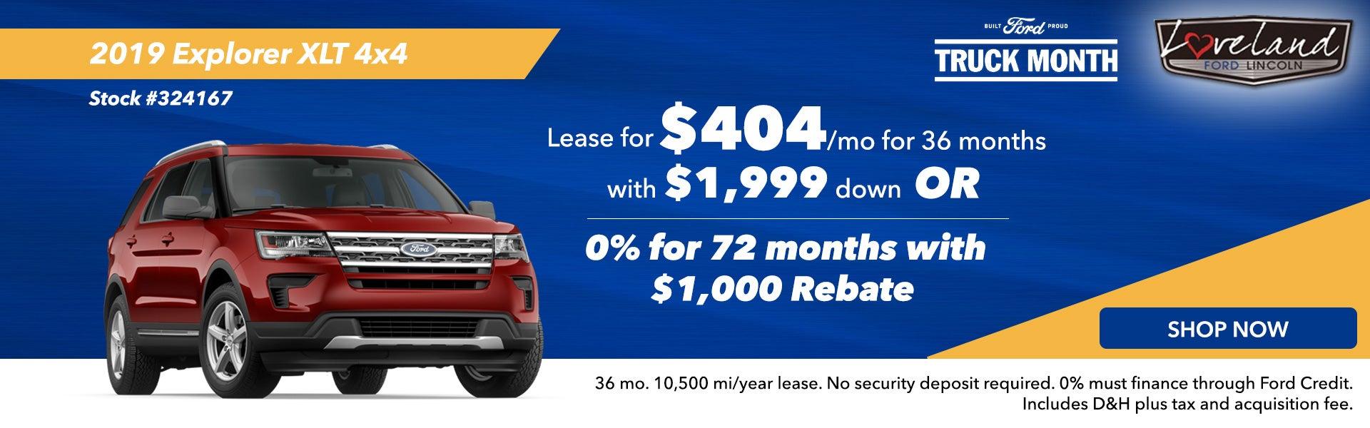 Ford Dealership Loveland CO | Greeley | Denver | Ford Dealer